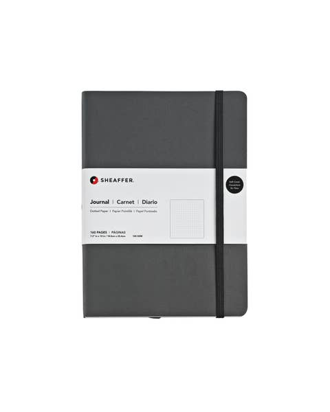 Sheaffer® Large Dotted Journal in Deep Gray