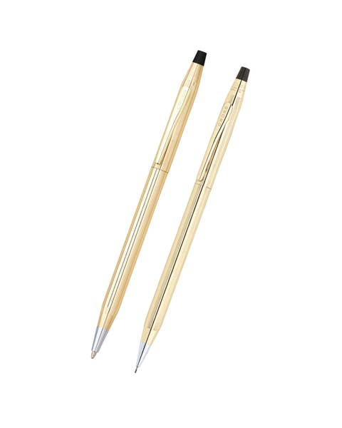 Classic Century 10KT Gold Filled/Rolled Gold Pen and Pencil Set