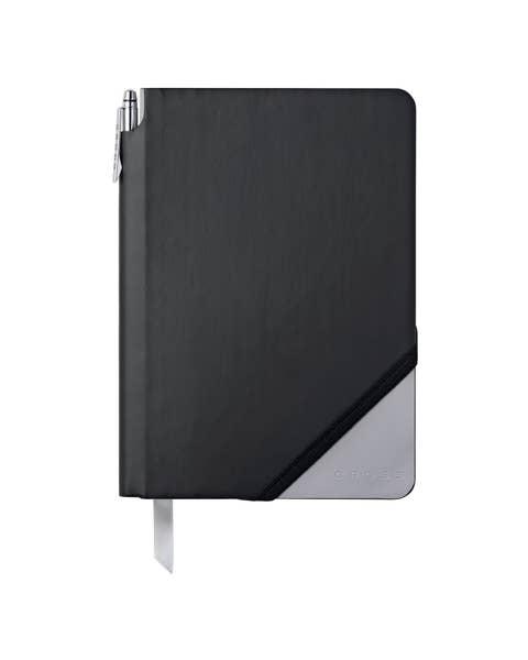 Negro y Gris Claro Jotzone Medio con bolígrafo - papel en blanco