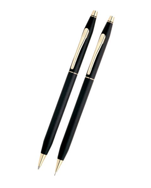 Classic Century Classic Black Pen and Pencil Set