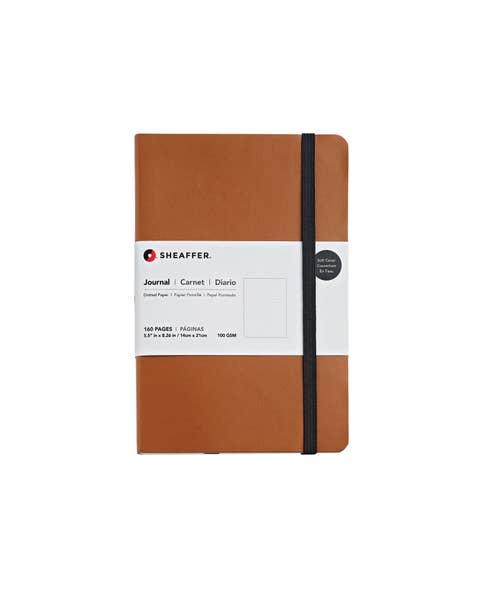 Sheaffer® Medium Dotted Journal in Caramel Brown