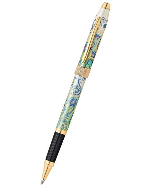Botanica Green Daylily Rollerball Pen