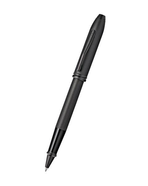 Townsend Black PVD Micro-knurl Rollerball Pen